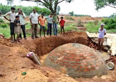Les digesteurs de biogaz utilisent une technologie testée et simple, mais efficace.
