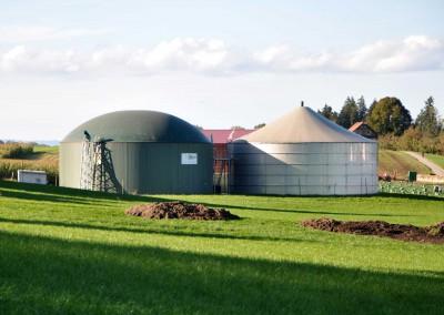 Le projet comprend deux usines dans le canton de Lucerne et d'Argovie et est développé et réalisé par la Swiss Green Power Cooperative (société coopérative Ökostrom Suisse).